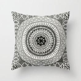 Mandala3 Throw Pillow