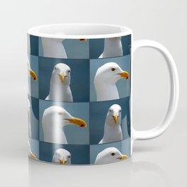 Seagull Faces Coffee Mug