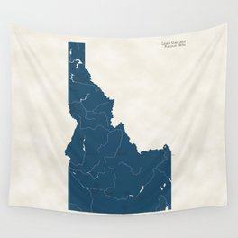 Idaho Parks - v2 Wall Tapestry