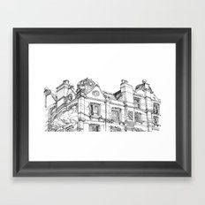 The Pub Framed Art Print