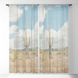 Old West Arizona Sheer Curtain