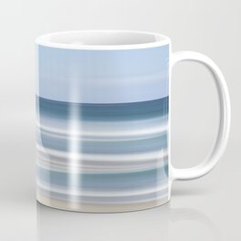 peaceful blue beach Coffee Mug