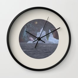 The Lonely Polarcorn Wall Clock