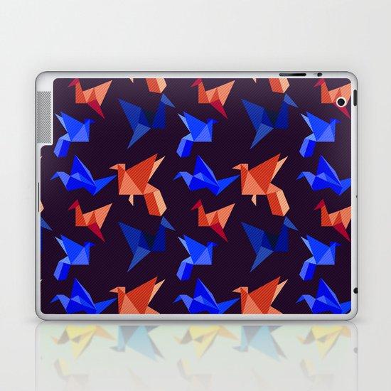 paper cranes in flight Laptop & iPad Skin