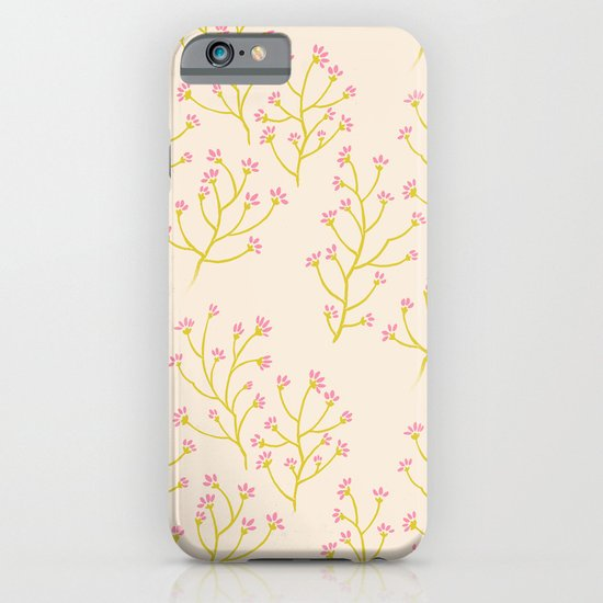 wildflowers yellow iPhone & iPod Case