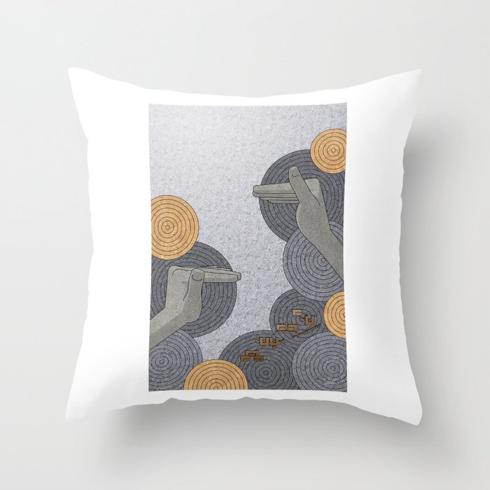 Hope Opens Heaven - (Artifact Series) Throw Pillow