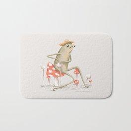Awkward Toad Bath Mat