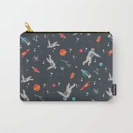 Spaceships, planets and Astronaut Carry-All Pouch