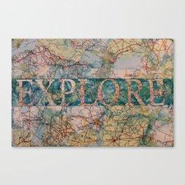 Explore by Heather Saulsbury Canvas Print