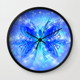 Butterfly Abstract G539 Wall Clock