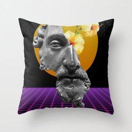 Marcus Aurelius VaporWare Throw Pillow