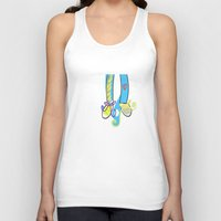 feet Tank Tops featuring Feet love by andy_panda_