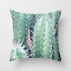 Cactus Up Close #society6 #decor #buyart Throw Pillow