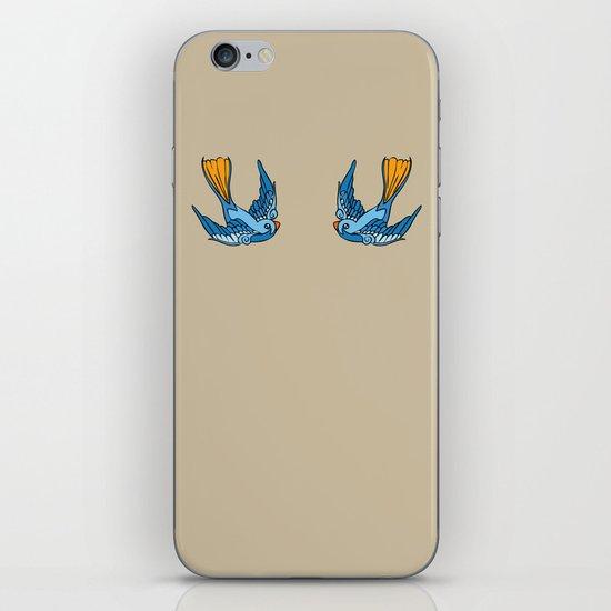 Swallow Tattoo iPhone & iPod Skin