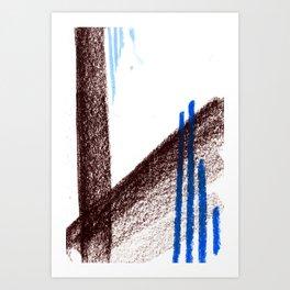 together | separate 01 Art Print