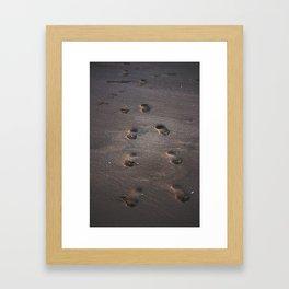 Burn In the Sand Framed Art Print
