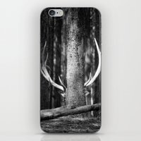 antler iPhone & iPod Skins featuring Antler Tree by J Witt Photography