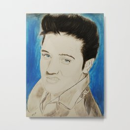The King, Elvis Presley Metal Print