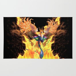 Flames of Life Rug