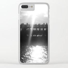 Ferry Boat Clear iPhone Case