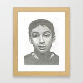Ad Rock Portrait Drawling Framed Art Print
