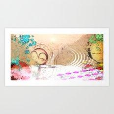 drift ashore Art Print