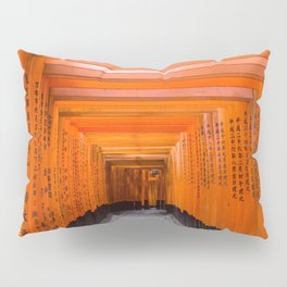 Japan Travel Photo - Fushimi Inari Shrine Pillow Sham