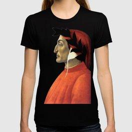 "Sandro Botticelli ""Dante Alighieri"" T-shirt"