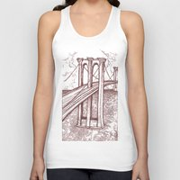 bridge Tank Tops featuring Bridge by Howard Coale
