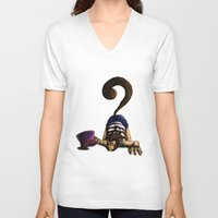 clueless V-neck T-shirts featuring Clueless by BIHLUSTRATION