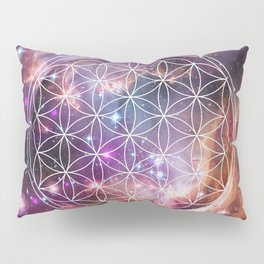 Flower of Life Sacred Geometry Pillow Sham
