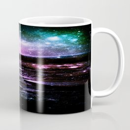 Mystic Waters Cool Tone Ombre Coffee Mug