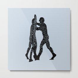 Molecule Man Metal Print