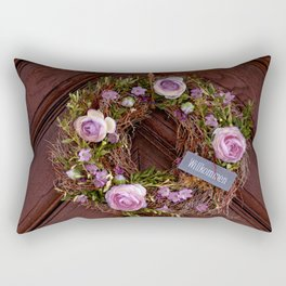 Welcome / Willkommen Rectangular Pillow