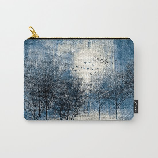 Paisaje y color (azul) Carry-All Pouch