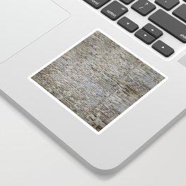 brick wall pattern and texture Sticker