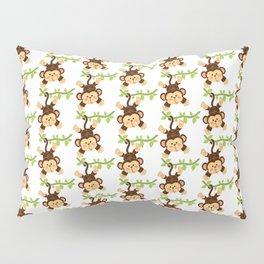 Little monkey Pillow Sham