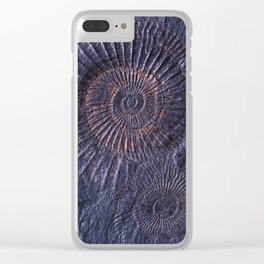 Ancient fossils Clear iPhone Case