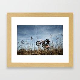 KTM Moto II Framed Art Print