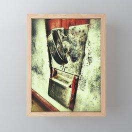 Gumball machine details fine art Framed Mini Art Print