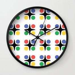 Modernist Pattern Wall Clock