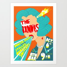 Donnas Poster Art Print