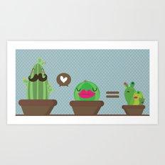 Simple math Art Print