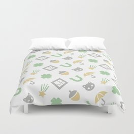 Superstitions Duvet Cover