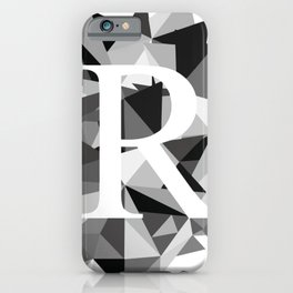 R for iPhone Case