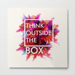 Quote for all Metal Print