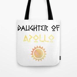 daughter of apollo Tote Bag