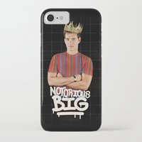 notorious big iPhone & iPod Cases featuring Notorious BIG by Alpha-Tone