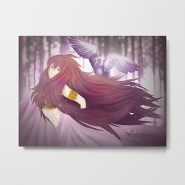 Little Owl. Metal Print