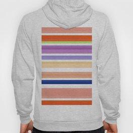 nice stripes orange Hoody
